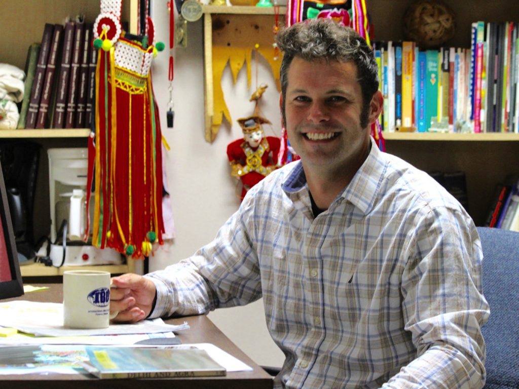 Catching up with Missions Director Joey Barrier