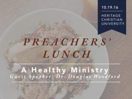 October Preachers' Luncheon