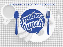 Preachers' Luncheon March 2017