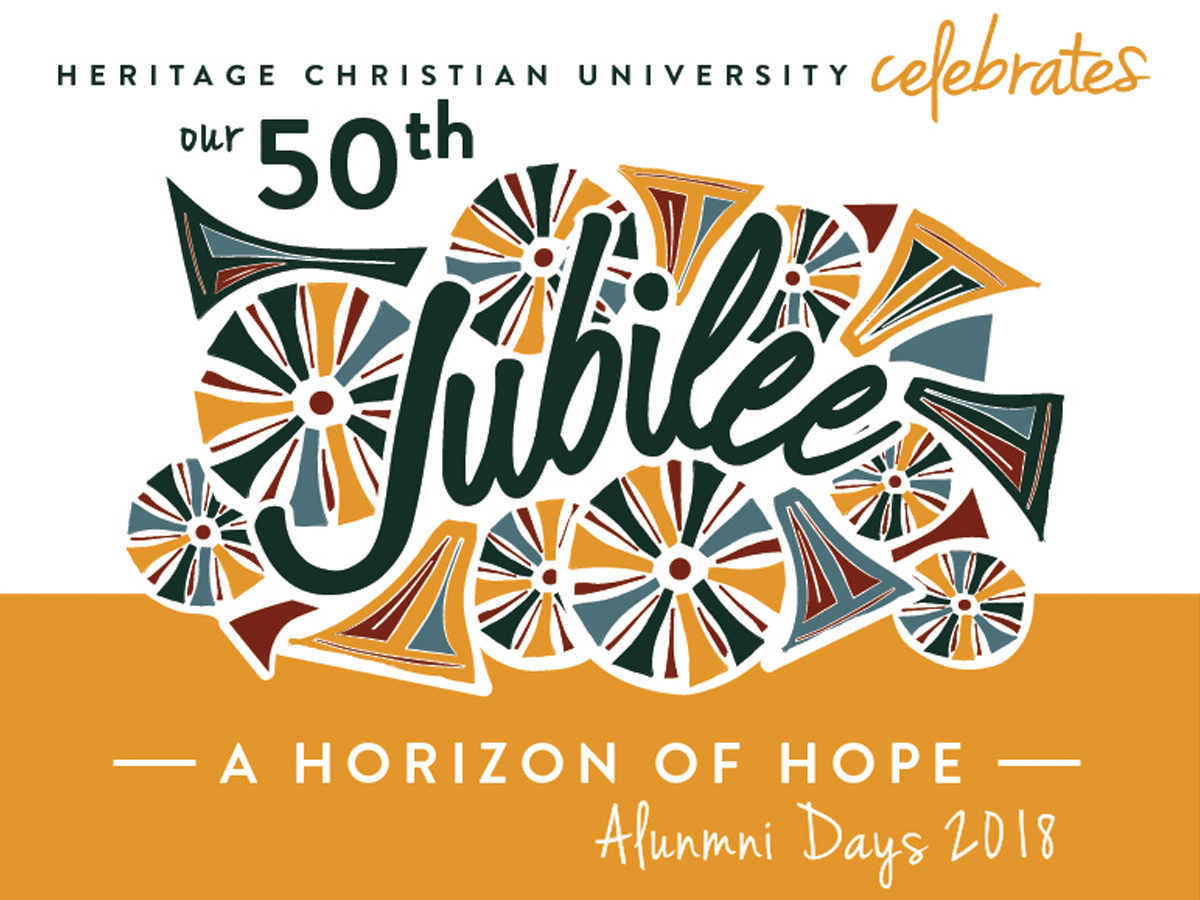 Alumni Days 50 with text