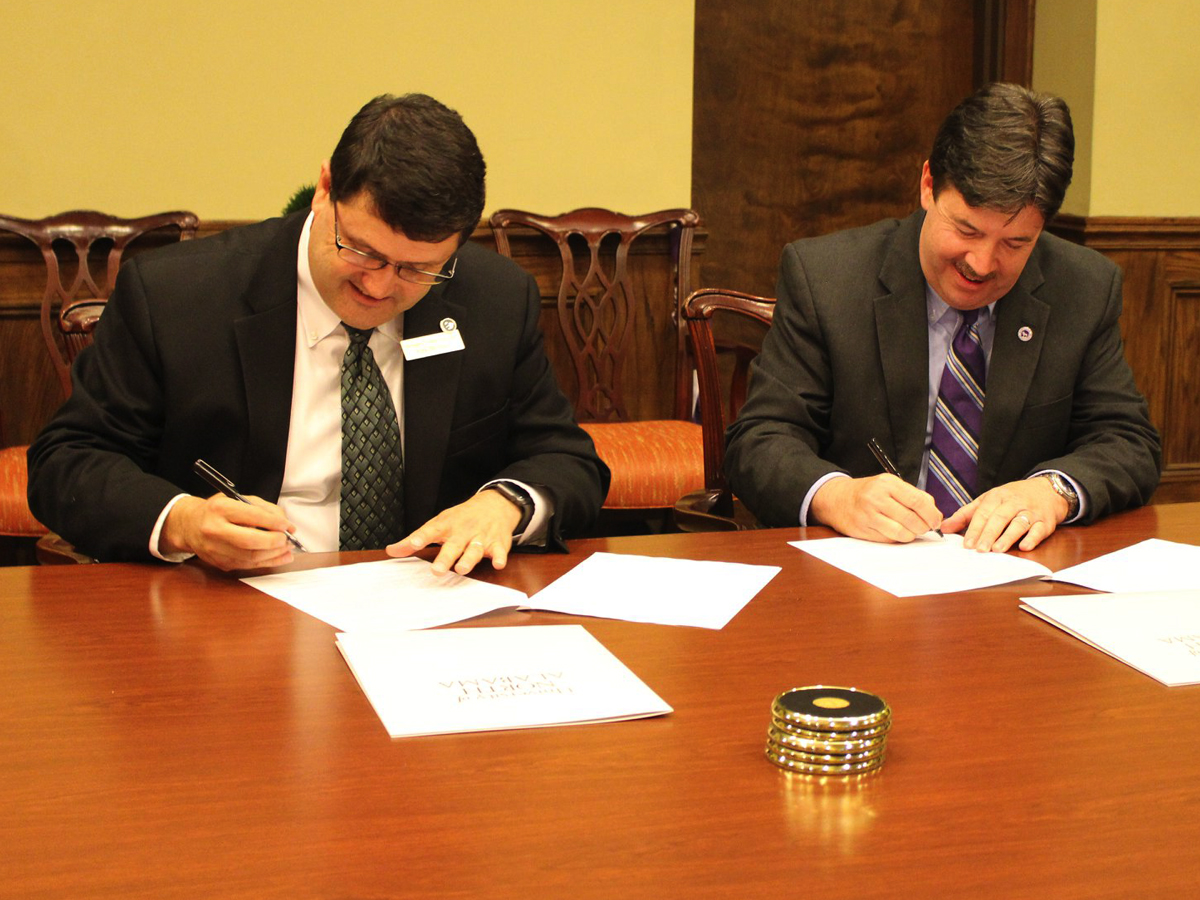 Heritage Christian University, University of North Alabama Sign Articulation Agreement
